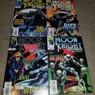 Marvel Comics Moonknight High Strangers 1 2 3 4 NM+ Low Print Rare book set 1999