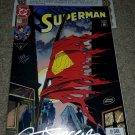 DC Comic Superman 17 NM+ death keybook 1/93 SIGNED Breeding Jurgens COA Rare HTF
