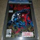 1 Marvel Comic Amazing Spider-man 375 NM+ CGC 9.8 Venom EddieBrock key book 3/93