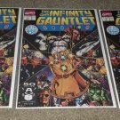 Marvel Comics Infinity Gauntlet 1 NM 7/91 Copper Thanos key book Movie coming!