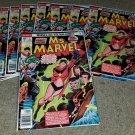 Comics Ms. Marvel 1 NM Bronze 77 .30 Stan Lee Key Movie Htf Rare Variant P book