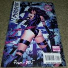 Marvel Comic Psylocke 1 Signed Finch Limited Series X-Men of 4 2010 Yost Tolibao