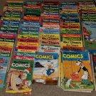 1 HUGE LOT 168 Golden Age Dell Walt Disney Lantz Comics 1941 .10 cents books