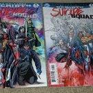 DC Suicide Squad 1 NM Signed Fabok Steigerwald Cincinnati Comic Expo Variant htf