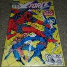 Marvel Comic X-Force 11 NM+ 3rd App Deadpool 6/92 1st App Domino Key book X-Men
