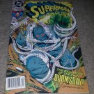 DC Comics Superman Man Steel 18 NM Newsstand Variant 1st App Doomsday 12/92 KEY