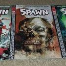 Set 3 Image Comic Spawn 200 NM+ Wood Silvestri Finch Variant Ed 1/11 Anniversary