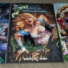 Zenescope Comic Grimm Fairy Tales Alice Wonderland 1 NM+ A B C Set Variants 2/12