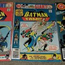3 DC Comics Batman Family 1 5 17 VF Robin Batgirl bronze key books 10/75 Dk
