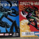 1 2 Marvel Comic Superior Spider-man 25 26 NM+ 2nd print Rare htf Venom Goblin