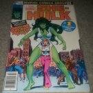 Marvel Comic She-Hulk 1 2/79 Stan Lee Collectors Key .40Bronze Newsstand Variant