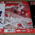 Marvel Comic Scarlet Spiders 1 2 3 NM Complete mini set Widow 15 book Spider-man