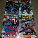 4 Marvel Comics Spider-man 2099 1 2 NM+ 2099 Unlimited Set Hulk key book 5/7/93