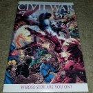 Marvel Comic Civil War 7 NM 1:15 Turner Variant Ed book 2007 Spider-man Avengers
