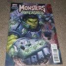 Marvel Comics Monster Unleashed 1 NM+ Hulk 1:25 Variant Ed World War Thor 3/17