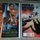 Marvel Comics Star Wars Force Awakens 1 2 NM+ 1:25 Variants Set keys Movie HTF
