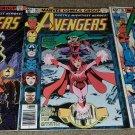 1 2 3 Marvel Comics Avengers 185 186 187 NM Quicksilver Scarlet book 7/79 Bronze