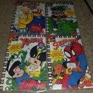 Marvel Comic Spider-man X-men Hulk Fantastic 4 McDonalds Promo Giveaway book Key