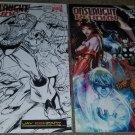 2 Marvel Comic Onslaught Reborn 1 NM+ Sketch Signed Variant Liefield 07 Avengers