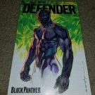 1 Marvel Comics Defender 7 Black Panther App promo rare Htf book CBLDF Fall 2016