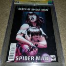 1 Marvel Comic Ultimate Spider-Man 160 NM+ CGC 9.6 Bagley Signed Stan Lee Bendis