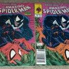 1 2 Comic Marvel Amazing Spider-man 316 VF Newsstand Variant UPCVenom Copper6/89