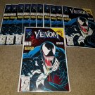Marvel Comics Venom 1 NM+ Lethal Protector 2/93 Red Foil Cover book Spider-man 6