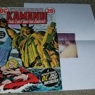 DC Comics Kamandi 1 NM Bronze 11/72 Signed JACK KIRBY .20 cents Key book COA HTF