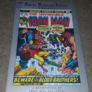 Marvel Comics Iron Man 55 VF 1st App Thanos Key Milestone Ed 11/92 Book Avengers