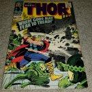 Marvel Comics Thor 132 FN 1st App Ego Silverage key book 9/66 Avengers Movie