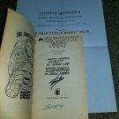 Marvel Comic Fantastic 4 1 NM Signed Stan Lee Jack Kirby Silverage 1965 key book