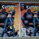 2 DC Comic Supergirl 4 NM 1st App Wally GOD Rare Htf Newsstand Variant key 12/96