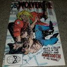 Marvel Comic Wolverine 10 NM 8/89 Copper key book Sabertooth 1st App Solo Series