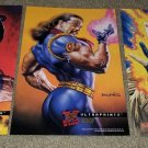 1 3 Marvel Comic Wolverine 181 Gambit 266 Bishop 282 Ultraprints fleer rare Set