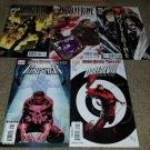 1 2 3 4 5 Marvel Comics Wolverine One-shot set Daredevil Punisher Logan Key book