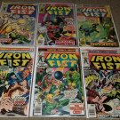 1 set Marvel Comic Iron Fist 4 5 6 9 11 13 Netflix Show bronze book 1976 series