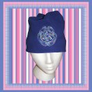 Fleece Beanie Cap with Celtic Knot Embroidery