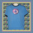 Yoga Rainbow OM Pigment Dyed Cotton Ringer T-shirt XL