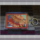 Gulf Fritillary Orange Butterfly Photo Plastic Key chain