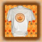 Celebrate Fall Autumn Short sleeve Cotton T-Shirt Large