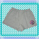 Ladies Fitness Shorts with Yoga Rainbow OM Cotton Blend XL