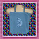 Tote Shopping Bag with Southwest Kokopelli Embroidery