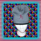 Knit Beanie Cap with Chinese Horse Zodiac Embroidery