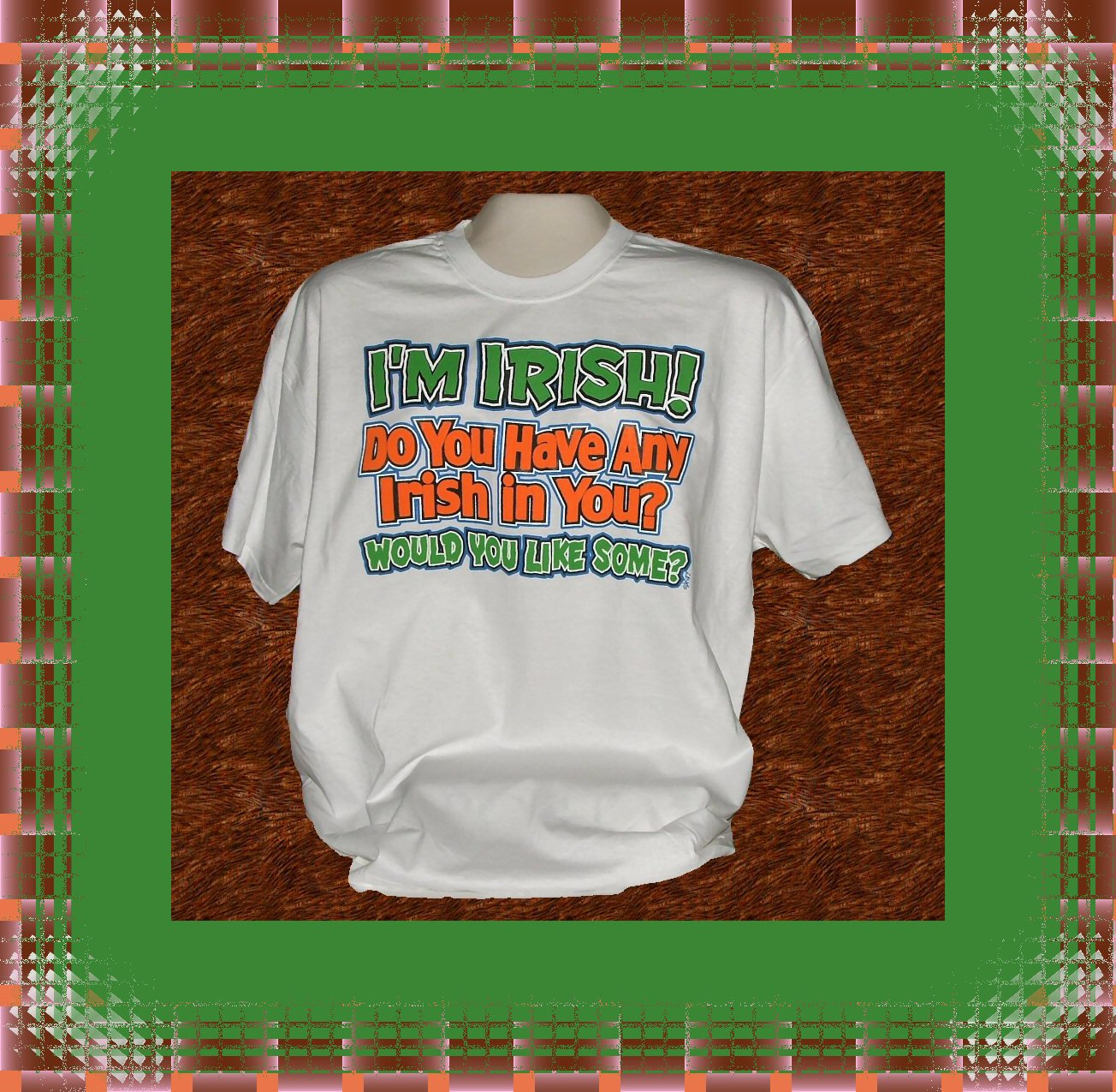 Funny Humor Irish In You Cotton T-Shirt XL