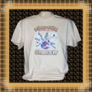 This Guy Knows How to Strike It Bowling Cotton T-Shirt Large