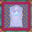 Watercolor Word Art Yoga Sleeveless Hoodie JR XL