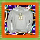 Puppy Dog Love Youth Hooded Long sleeve Sweatshirt Large 14-16