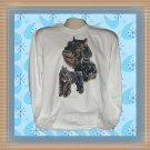 Bouvier Des Flandres Dog Long Sleeve Cotton T-shirt Large