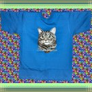 Domestic Short hair Cat Cotton Youth T-shirt Med 10-12