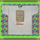 Believe Mosaic Cross Cotton Blend Youth T-shirt MED 10-12